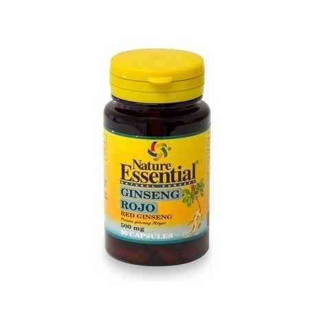 Ginseng Rojo 60 cápsulas 500 mg Nature Essential