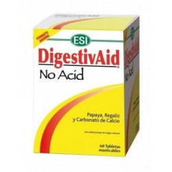 DigestivAid No Acid 60 Tabletas masticables ESI