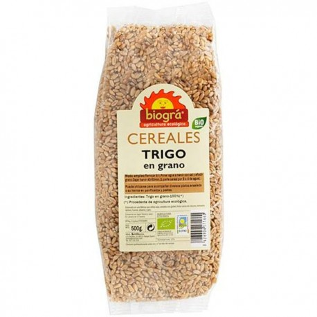Trigo en grano bio 500 gr Biográ