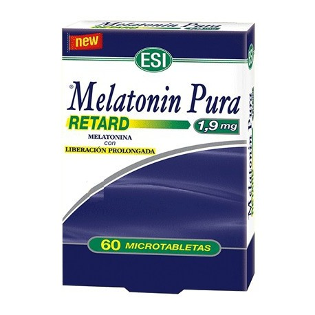 Melatonina pura 1.9 mg 60 microtabletas