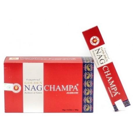 Incienso Golden Nag Champa 15 gr Agarbathi