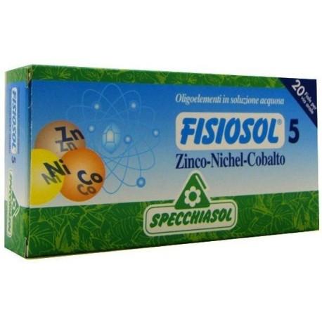 Fisiosol    5    Zinc   Níquel    Cobalto     20    viales    Specchiasol