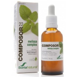 Composor 22 Melissa Complex 50 ml Soria Natural