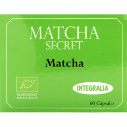 Matcha     Secret   Eco   60  cápsulas   Integralia