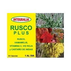 RUSCO PLUS 30 CÁPSULAS INTEGRALIA