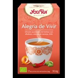 ALEGRÍA DE VIVIR 17 FILTROS YOGI TEA