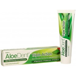 ALOE DENT TRIPLE ACCIÓN DENTÍFRICO CON ALOE 100 ML OPTIMA