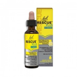 RESCUE PLUS CON VITAMINAS SABOR LIMÓN 20 ML BACH