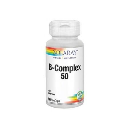 B  Complex   50   50  cápsulas  vegetales  Solaray