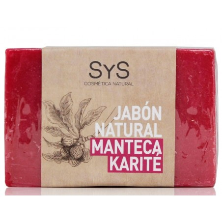 Jabón natural de Manteca de Karité 100 gr SyS