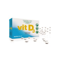 VITAMINA D3 RETARD 48 COMPRIMIDOS DE 200 MG SORIA NATURAL
