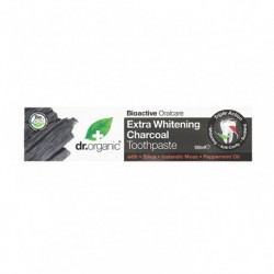PASTA DIENTES EXTRA WHITENING CHARCOAL CARBÓN BLANQUEANTE 100 ML DR. ORGANIC
