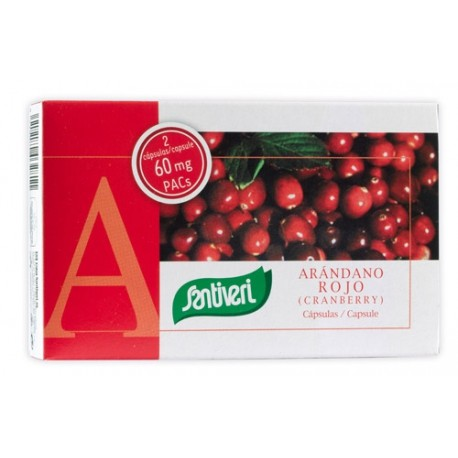 Arándano rojo 40 cápsulas de Santiveri