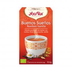Yogi Tea Buenos Sueños Rooibos Vainilla 17Bolsitas