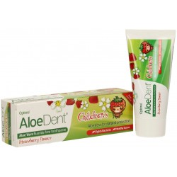 PASTA DE DIENTES ALOE DENT SABOR FRESA CHILDREN´S 50 ML OPTIMA