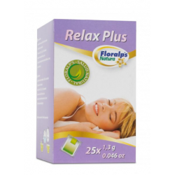 Relax Plus Floralp's Natura 25 Bolsitas