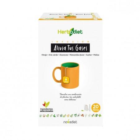 Herbodiet  Alivia Tus Gases   20 Filtros  Nova Diet