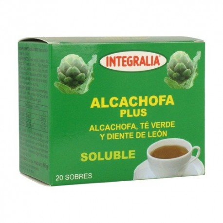 ALCACHOFA PLUS SOLUBLE 20 SOBRES INTEGRALIA