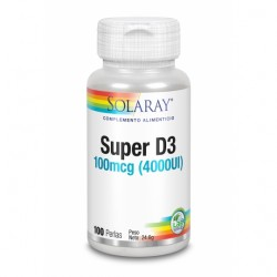 SUPER D3 4000 UI  100 PERLAS SOLARY -
