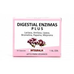 DIGESTIAL ENZIMAS PLUS 30 CÁPSULAS INTEGRALIA -