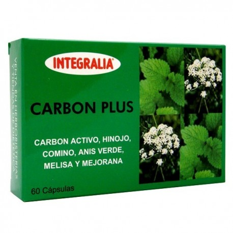 Carbon plus 60 cápsulas de Integralia