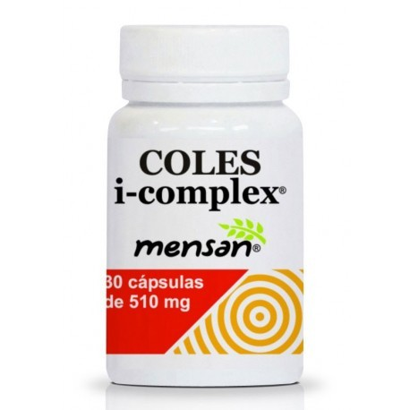 Coles i-complex 30 cápsulas de 510mg de mensan