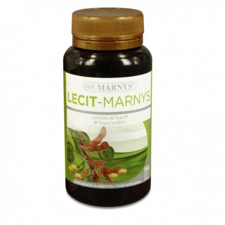 Lecitina de soja 150 cápsulas 500 mg de Marnys