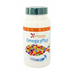 Omega 3 Plus 120 Cápsulas Mundonatural