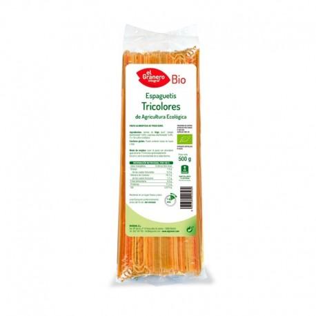 Espaguetis Tricolores 500 gr El Granero Integral