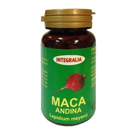 Maca 60 cápsulas 500 mg Integralia
