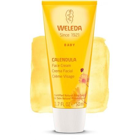 Crema Facial de Caléndula para bebé 50 ml Weleda
