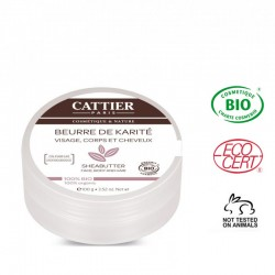 Manteca Karité 100 % eco 100 gr Cattier